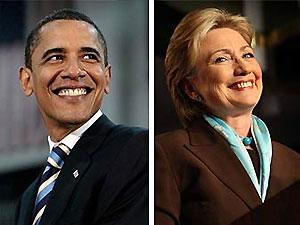 Барак Обама тайно встретился с Хиллари Клинтон