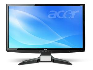 Acer анонсирует первый в мире 24-дюймовый ЖК-монитор с полной поддержкой HD