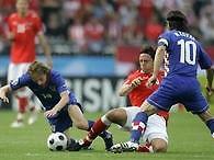 Евро-2008: Хорваты побеждают хозяев Чемпионата