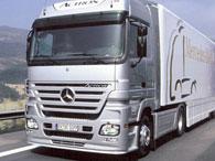Daimler продемонстрировал экономичный грузовик Mercedes Actros