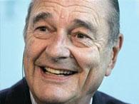 Жак Ширак презентует в Париже благотворительный фонд