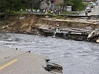 В результате стихийных бедствий в США погибли десять человек