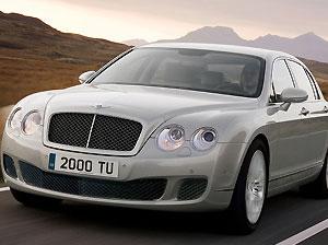Bentley претерпела рестайлинг