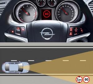 Opel начнет следить за знаками