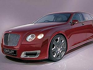 Предварительный эскиз нового поколения Bentley Arnage