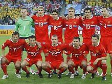 Евро-2008: Россия выйдет на матч с Испанией в красной форме