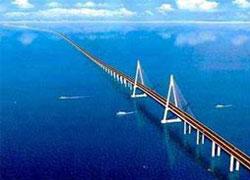 В Китае открыт самый длинный в мире мост