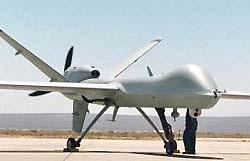 В Ираке разбился американский беспилотный самолет-разведчик
