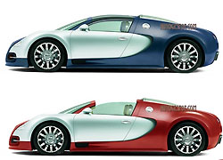 Bugatti Veyron Targa выпустят в количестве 80 единиц