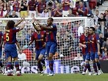 Примера: Барселона разгромила Валенсию