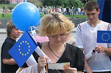 В День Европы в небо Киева поднимутся тысячи воздушных шариков