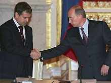 Медведев рассчитывает на поддержку Путина