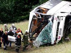 В Турции подорвался на мине автобус с детьми