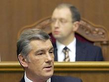После послания Ющенко Рада займется законом о Кабмине