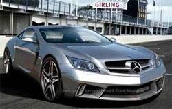 Mercedes SLC/Gullwing дебютирует в 2010 году