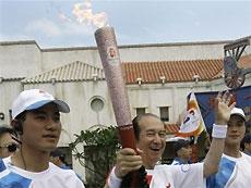 Эстафета олимпийского огня  будет сокращена