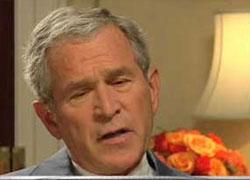 Буш отказался от гольфа из-за войны в Ираке