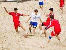 Пляжный футбол: Украина вышла в Плэй-офф Кубка мира