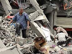 Пострадавшим при землетрясении областям Китая грозит затопление