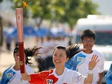 В Японии оштрафовали двух задержанных во время эстафеты олимпийского огня