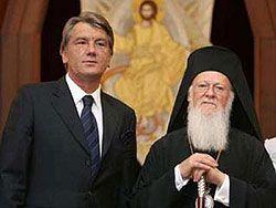Виктор Ющенко хочет отдать все украинское православие под начало Константинополя