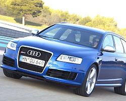 Audi планирует выпустить мощную версию универсала RS6 Avant