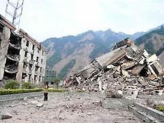Количество погибших при землетрясении в Китае возросло до 60 тысяч