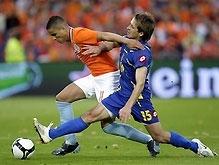 Товарищеский матч: Украина бесславно проигрывает Голландии
