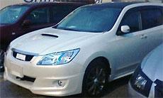 Опубликованы фото Subaru Exiga