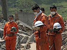 Число жертв землетрясения в Китае превысило 68,5 тысячи человек