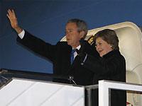 Буш отбыл из Украины в Румынию