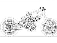 Создан крестообразный двигатель