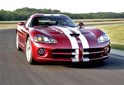 Суперкар Dodge Viper SRT-10 получит еще более мощный двигатель