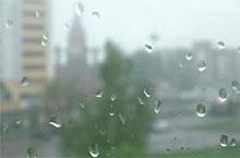До понедельника в Украине будут дожди с грозами
