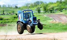 В России состоятся гонки на тракторах
