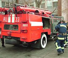 В Киеве горит больница Павлова