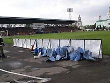 Стадион в Ахтырке уже отремонтировали