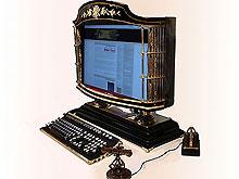 Создан компьютер в викторианском стиле