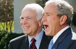 Следующим президентом США будет Джон Маккейн, считает Буш