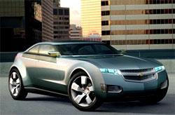 Гибрид Chevrolet Volt может появиться к 2010 году