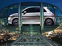 Премьера Fiat 500 в Великобритании пройдет на колесе обозрения