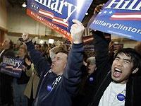 Последние данные по супервторнику: Клинтон сохраняет лидерство