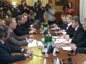 Украина подписала протокол о контроле за транзитом газа