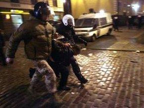 Беспорядки в Риге: полиция задержала 126 человек, 28 участников акции госпитализированы