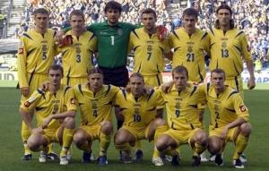 Сборная Украины опустилась на одну позицию в рейтинге ФИФА