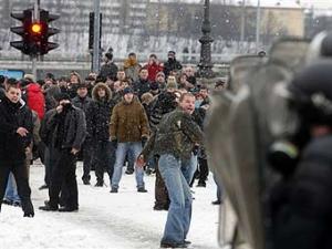 В связи с беспорядками в Литве задержаны 40 человек