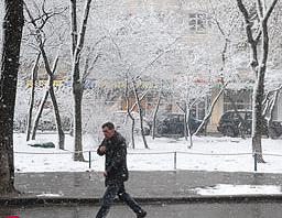 Погода в Украине только портится