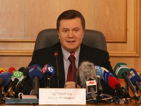 Янукович: В Партии Регионов нет раскола