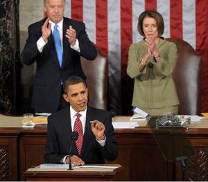 """Обама выступил перед Конгрессом: """"кризис сделает США сильнее"""""""