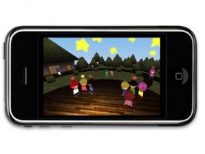 Японцы создали первый виртуальный мир для iPhone